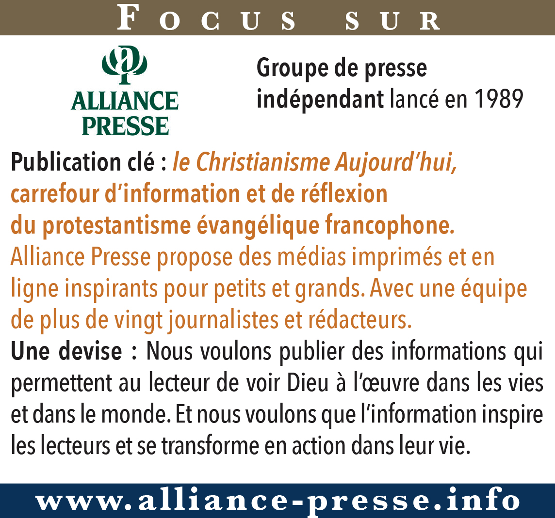 Focus sur Alliance Presse
